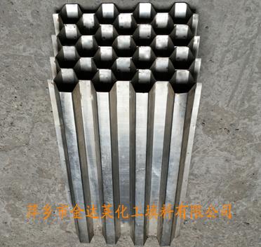 不锈钢蜂窝斜管填料