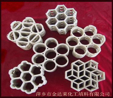 """品牌 : """"精填""""牌 上一个: 陶瓷波纹规整填料 下一个: 塑料阶梯环填料"""